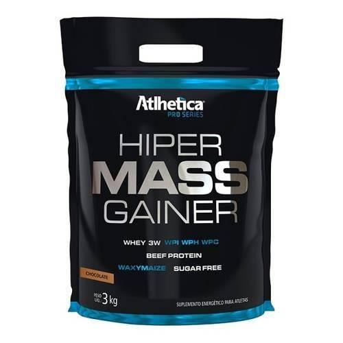 Hiper Mass Gainer Pro Series 3kg Refil Atlhetica Nutrition - Chocolate