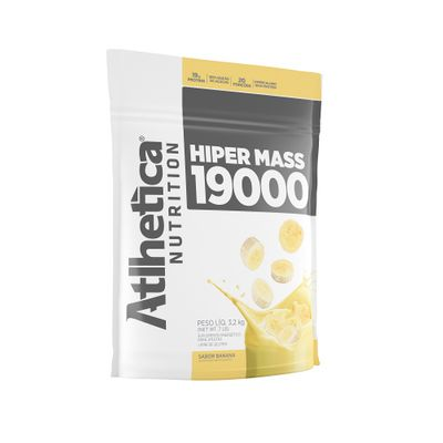 Hiper Mass Gainers 3kg Atlhetica Nutrition Hiper Mass Gainers 3kg Banana Atlhetica Nutrition