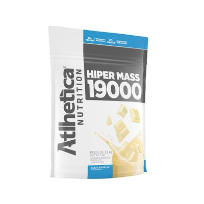 Hiper Mass Gainers 3kg Atlhetica Nutrition Hiper Mass Gainers 3kg Baunilha Atlhetica Nutrition