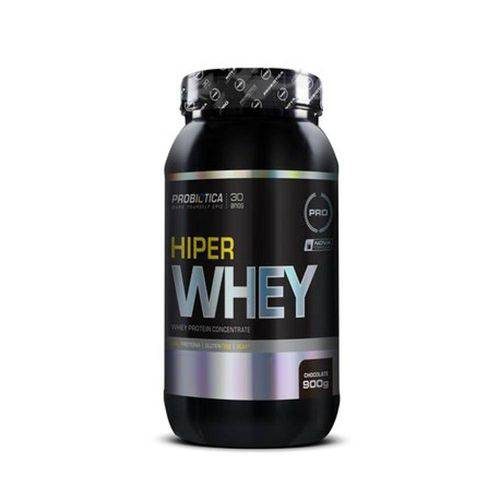 Hiper Whey 900g Chocolate - Probiotica + Luva Caleira