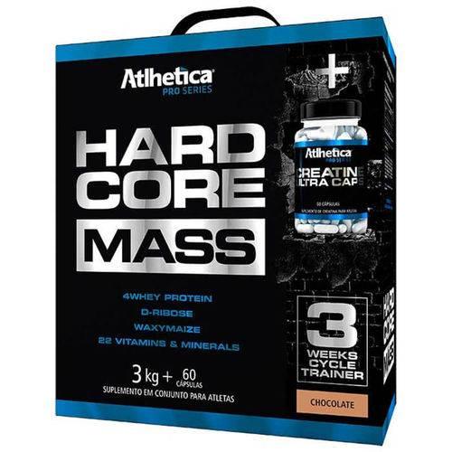 Hipercalórico Atlhetica Hardcore Mass (3kg + 60caps)