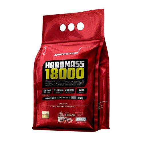 Hipercalórico Hard Mass 18000 - Body Action - 3kg