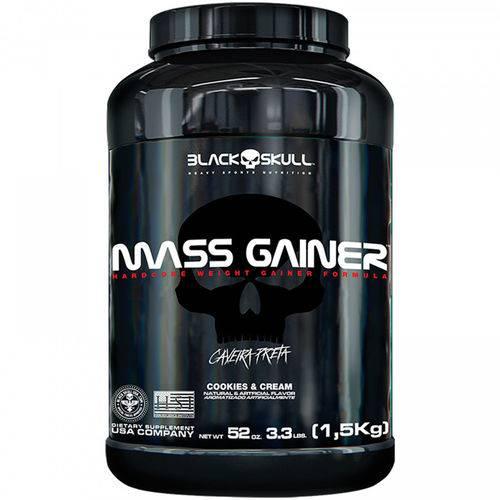 Hipercalórico Mass Gainer Cokies 1,5kg - Black Skull