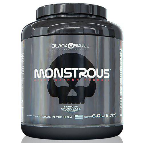 Hipercalórico Monstrous 2,7kg - Black Skull