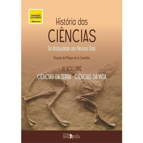 História das Ciências Vol. III - Exclusividade Livraria Saraiva