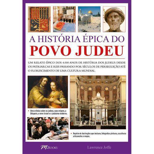 Historia Epica do Povo Judeu, a - M. Books