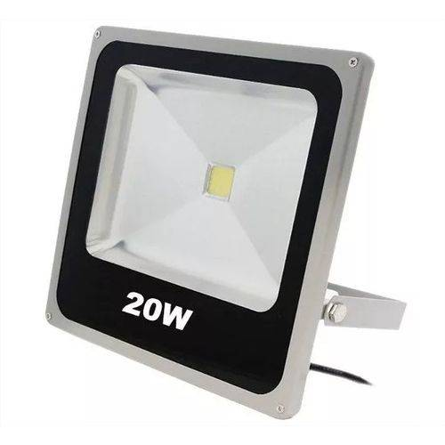 Holofote Refletor Led 20w Bivolt a Prova D'água