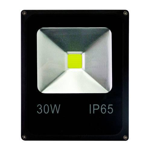 Holofote Refletor Super Led 30w Bivolt Verde - a Prova Dágua