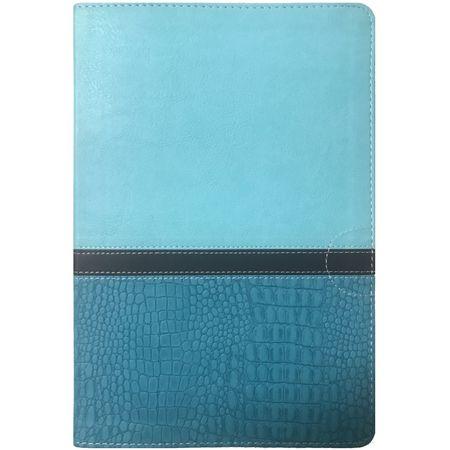 Holy Bible NIV Thinline Large Print Turquoise