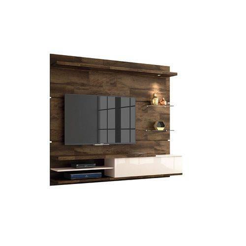 Home Suspenso Destak - Deck / Off White - Hb Móveis