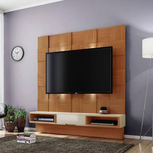 Home Suspenso para Tv Até 40 Polegadas 1 Gaveta Freijo/off White