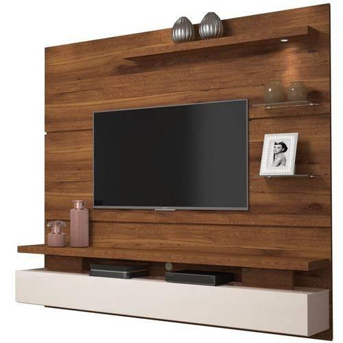 Home Suspenso para Tv Greco Rústico Terrara/off White - Dj Móveis