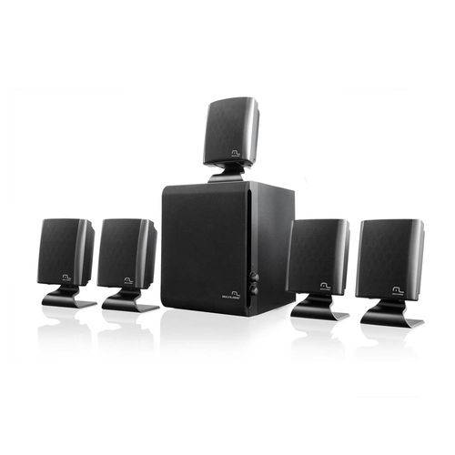 Home Theater 5.1 Multilaser 60w Rms Preto - Sp088