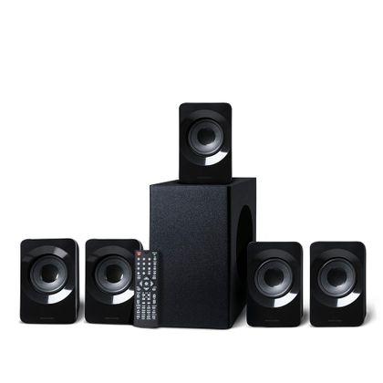 Home Theater HDMI 320W RMS 5.1 Canais Preto Multilaser - SP268 SP268
