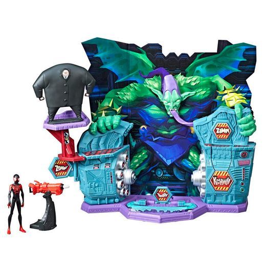 Homem Aranha no Aranhaverso: Playset Super Collider Miles Morales - Mattel