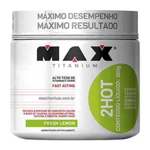 2hot 360g Limão Max Titanium