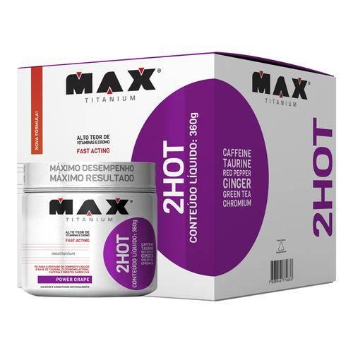 2hot Max Titanium - Sabor Uva