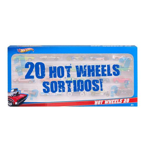 Hot Wheels 20 Carrinhos - Mattel