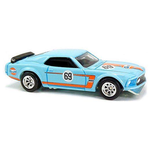 Hot Wheels 69 Ford Mustang Boss 302 - Mattel