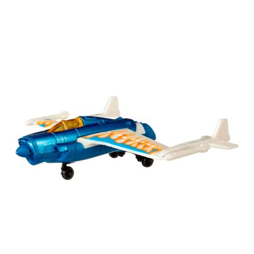 Hot Wheels Aviões Skybusters Duel Tail - Mattel