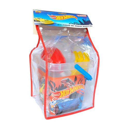 Hot Wheels - Baldinho de Praia - Fun