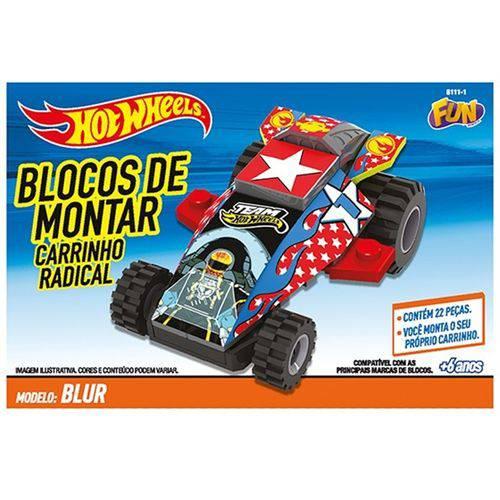 Hot Wheels Bloco de Montar Carrinho Radical - Fun Toy