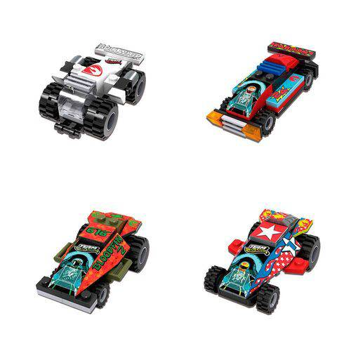 Hot Wheels Blocos de Montar Carrinhos Sortidos - Fun Divirta-se