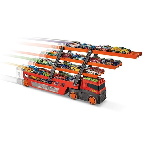 Hot Wheels - Caminhão Cegonha Mega Hauler Ghr48 - MATTEL