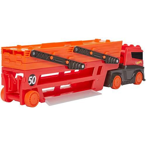 Hot Wheels Caminhão Mega Red Hauler 50th Ghr48 - Mattel
