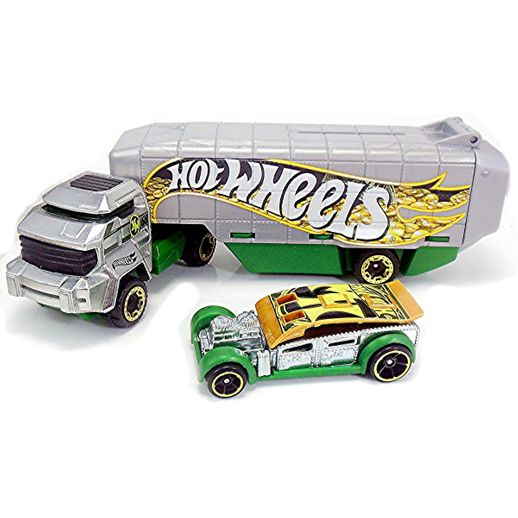Hot Wheels Caminhão Transportador Bank Roller - Mattel