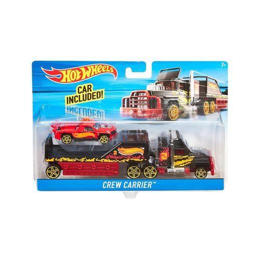 Hot Wheels Caminhão Transportador Crew Carrier - Mattel