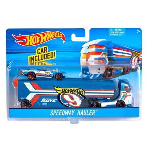 Hot Wheels Caminhão Transportador Speedway Hauler - Mattel