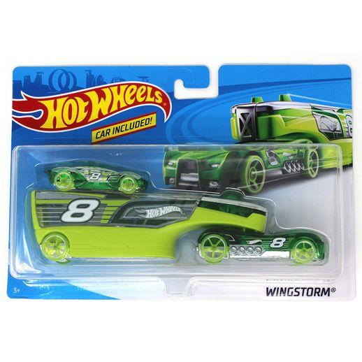 Hot Wheels Caminhão Transportador Wingstorm - Mattel