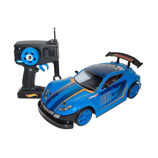 Hot Wheels Carro de Controle Remoto Rush Azul - Candide