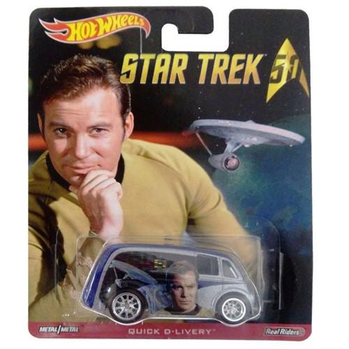 Hot Wheels - Carro Star Trek - Quick D-Livery Djg83 - MATTEL