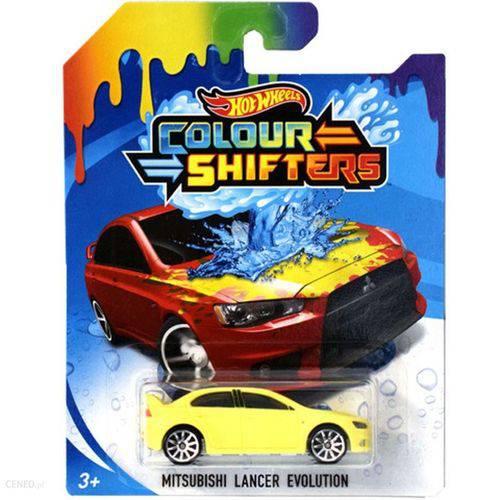 Hot Wheels Colour Shifters Mitsubishi Lancer BHR15 - Mattel