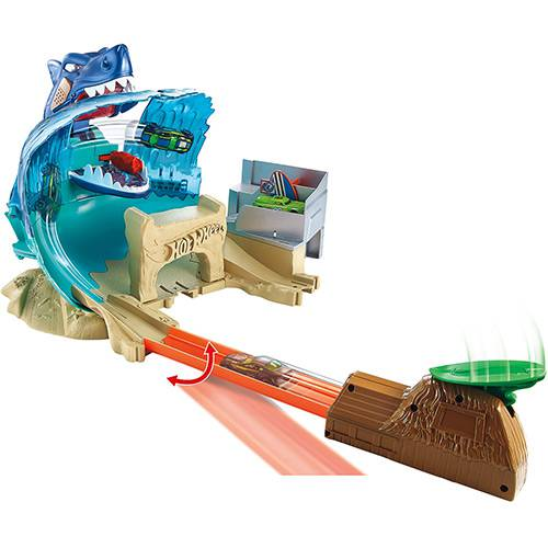 Hot Wheels Conjunto Ataque Tubarão City - Mattel