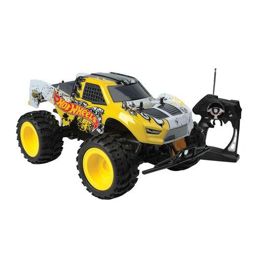 Hot Wheels - Controle Remoto 7 Funções Jump Truck - Candide