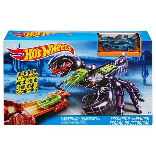 Hot Wheels Criaturas Conjunto Ferrão do Escorpião - Mattel