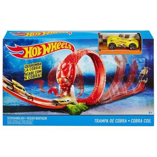 Hot Wheels Criaturas Conjunto Trampa de Cobra - Mattel