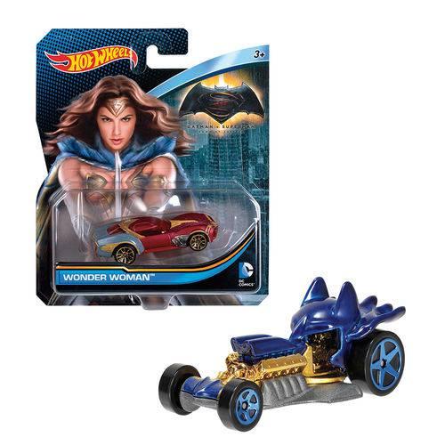 Hot Wheels Dc Carros Personagens Sortidos - Mattel