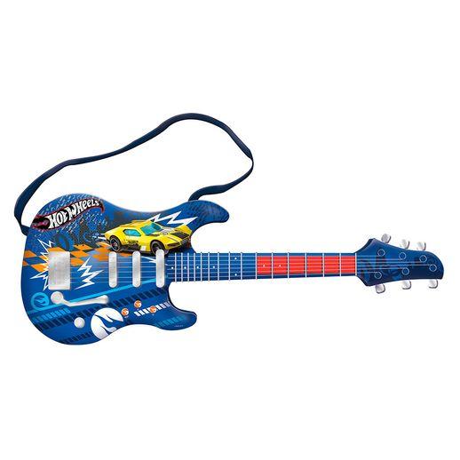 Hot Wheels Guitarra Infantil - Fun Divirta-se