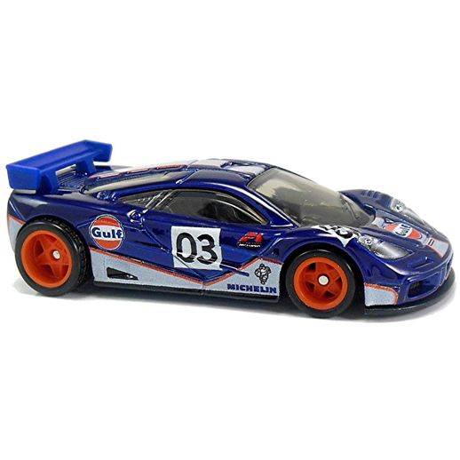 Hot Wheels McLaren F1 GTR - Mattel