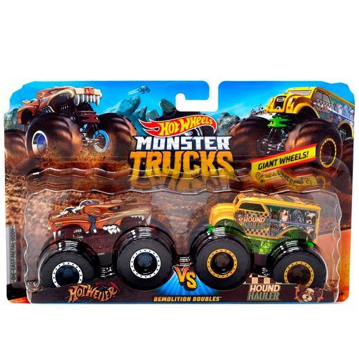 Hot Wheels Monster Trucks 1:64 Muscle Car - Mattel