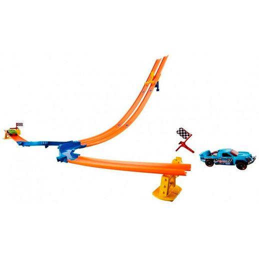 Hot Wheels Pista Corrida Queda Dupla - Mattel