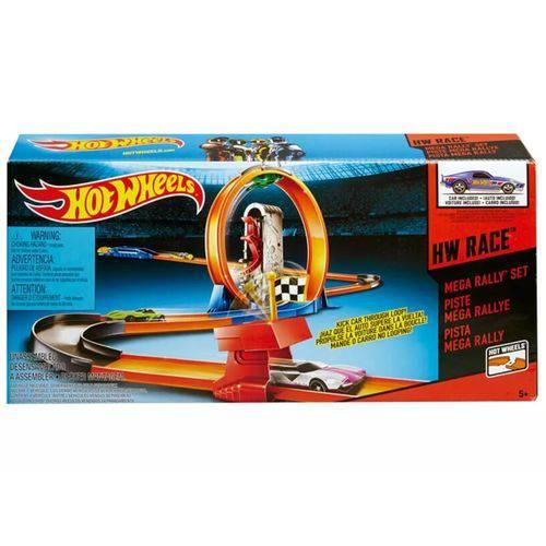 Hot Wheels Pista de Corrida Mega Rally - Mattel