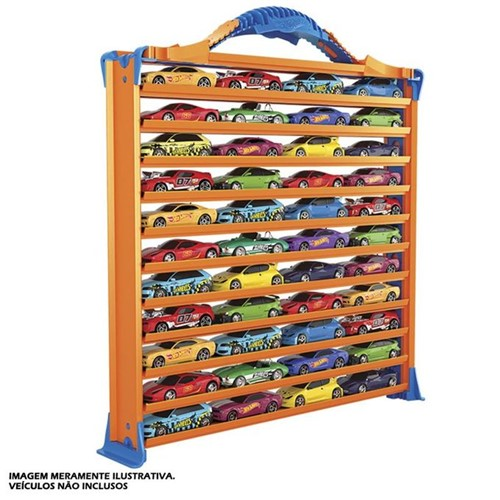 Hot Wheels - Porta Carrinhos Pista - Fun - FUN