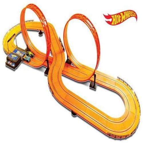 Hot Wheels - Slot Car Track Set Luxo 632cm - Multikids - MULTI KIDS