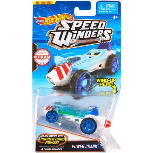 Hot Wheels Speed Winders Carro Power Crank - Mattel
