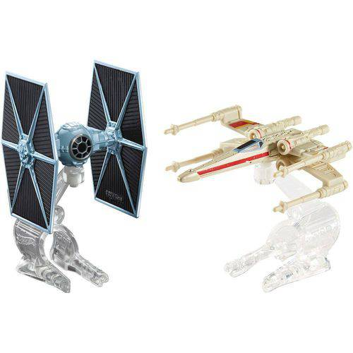 Hot Wheels Star Wars Pacotenaves Tie